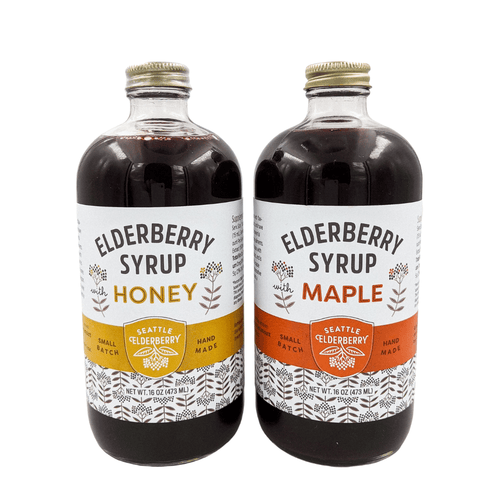elderberry syrup two pack