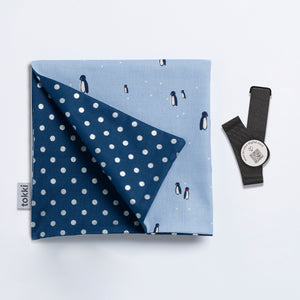 A Waddle of Penguins | Reusable Gift Wrap