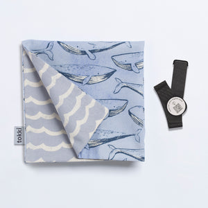 A Gam of Whales | Reusable Gift Wrap