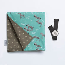 Load image into Gallery viewer, A Zeal of Zebras | Reusable Gift Wrap
