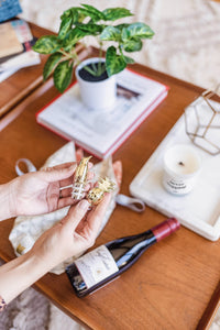 welcoming wine stopper gift set | 3 piece