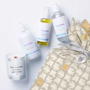 mama + baby spa gift set | 5 piece