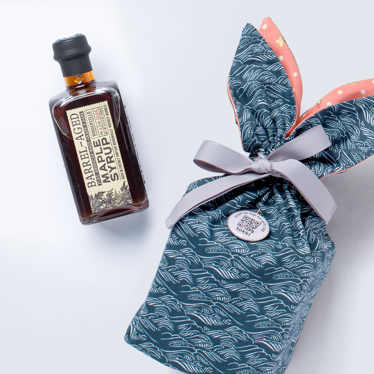 bourbon maple syrup gift set | 2 piece
