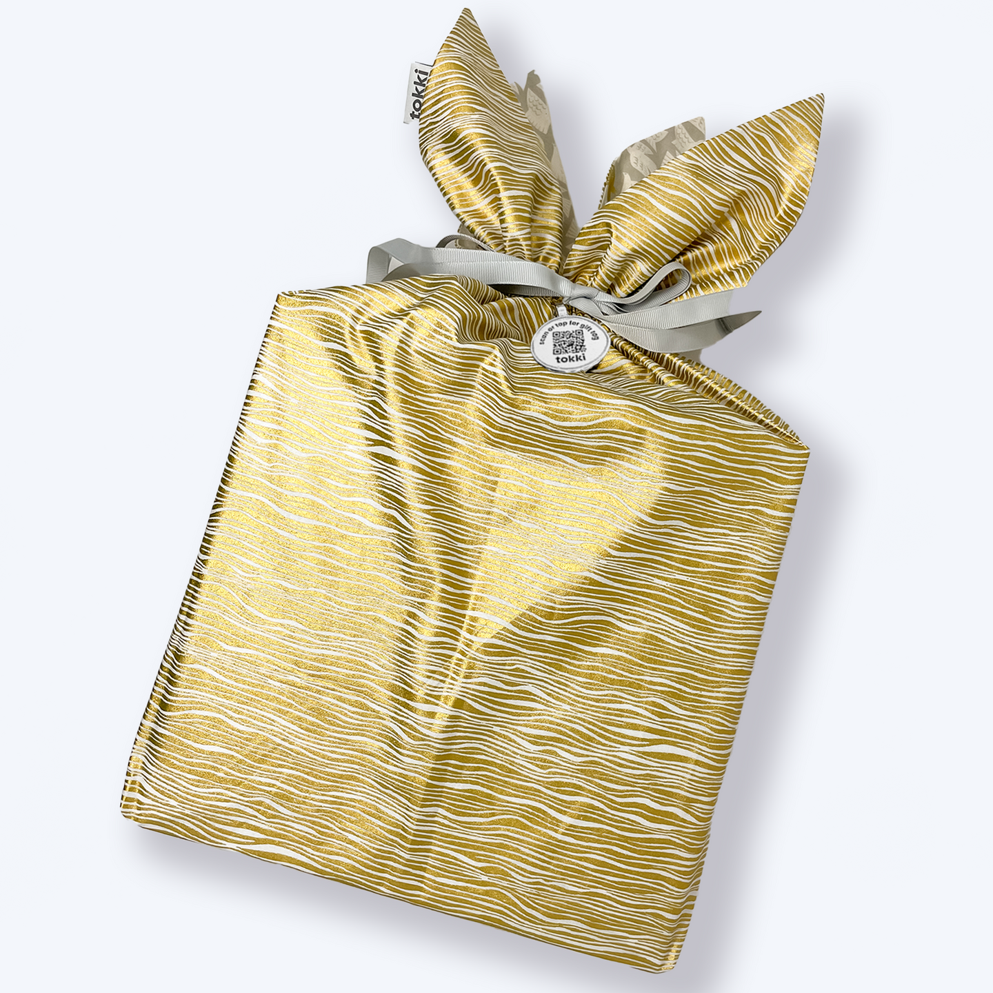 large gift bag + tag