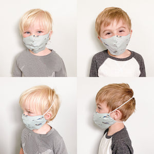 face mask: kids 2-6