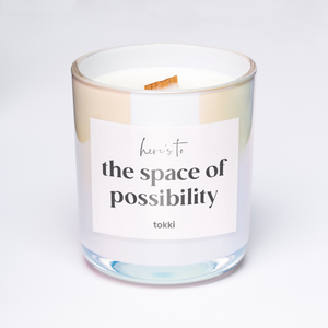 here's to the space of possibility