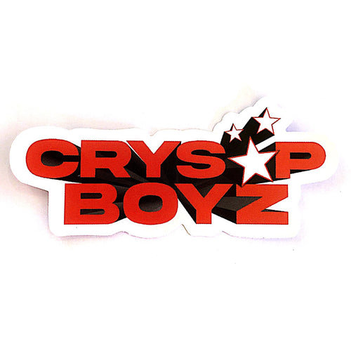 Crys*p Boyz Sticker