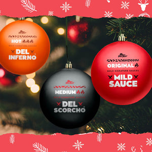 Sauce Packet Holiday Ornaments (3 PACK)