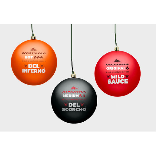 COMING SOON!  Sauce Packet Holiday Ornaments (3 PACK)