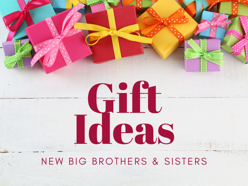 Gift Ideas for New Big Brother's and Sisters