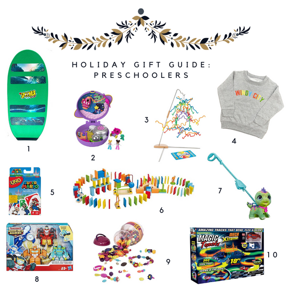 Holiday Gift Guide - Preschoolers