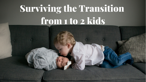 Surviving the Transition from 1 to 2 kids