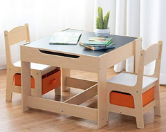 Kids storage table