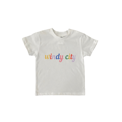 Windy City Cursive Tee