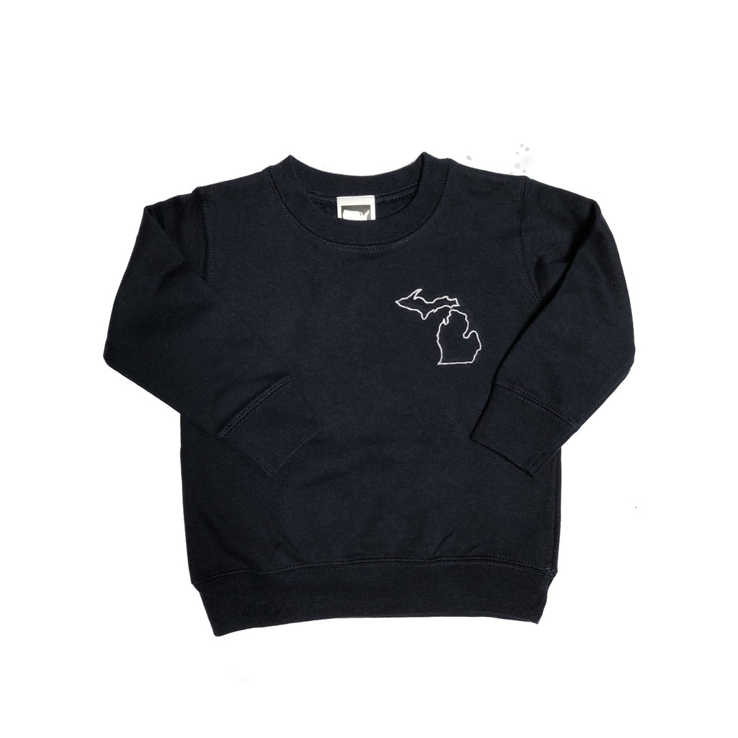 Embroidered Kids Sweatshirt