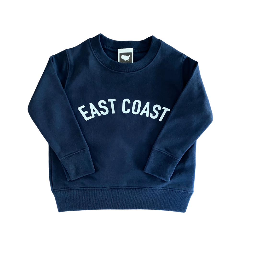 East Coast Toddler  Sweatshirt