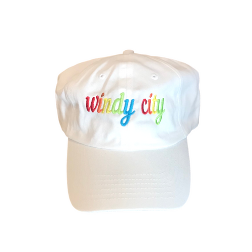 Windy City Cursive Adult Hat