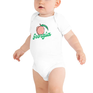 Georgia Peach Onesie
