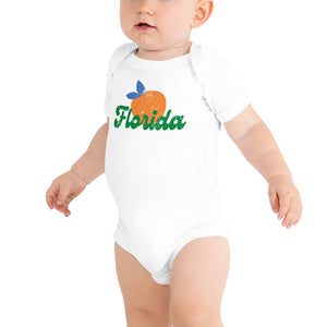 Florida Orange Onesie