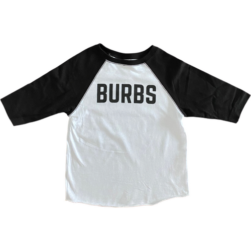 Burbs Toddler Baseball Tee