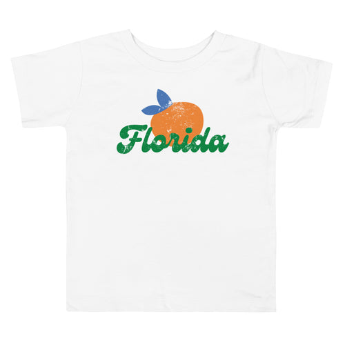 Florida Orange Toddler Tee