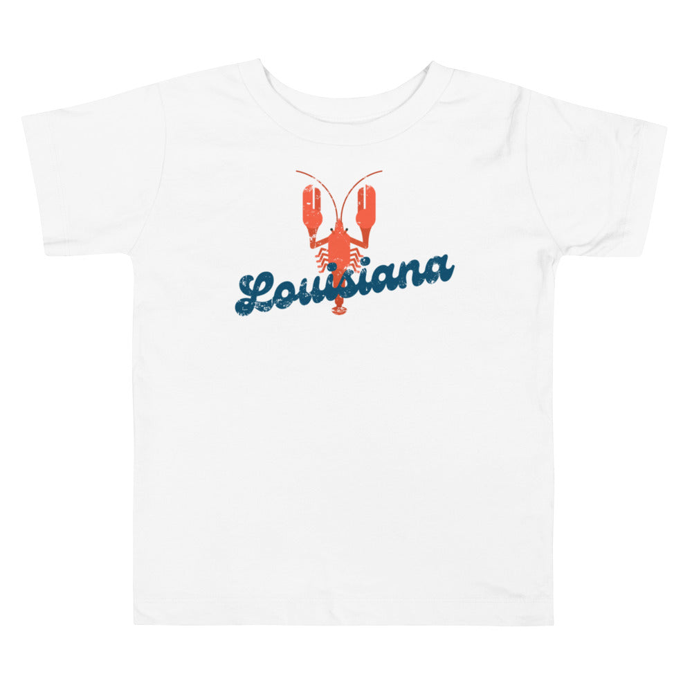 Louisiana Crawfish Toddler Tee
