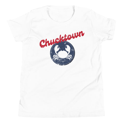 Chucktown Crab Big Kid Tee