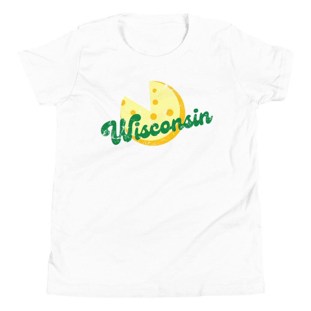 Wisconsin Cheese Big Kid Tee