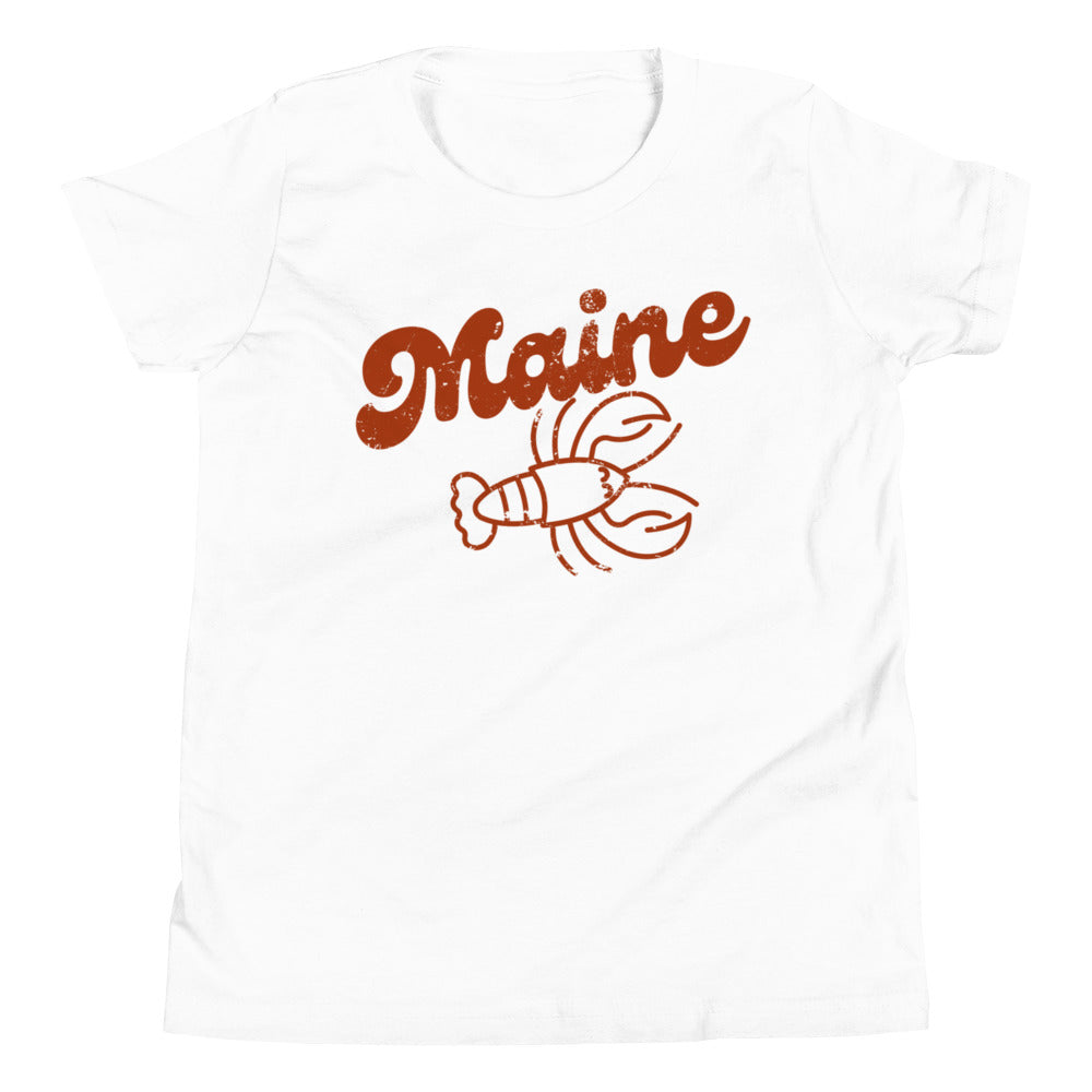 Maine Lobster Big Kid Tee