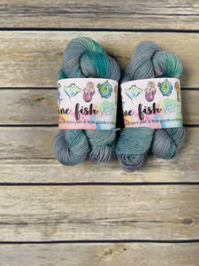 Floral Hall - Merino Nylon Sock 50g Platinum Base