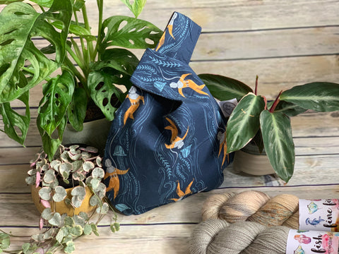 FFY x TLGG Project Bag - Knot Bag