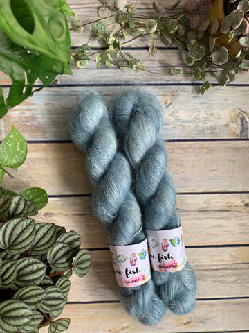 Grunge Blue - Kid Mohair Silk