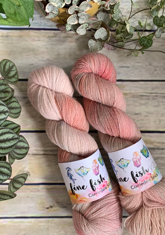 Sweet pea - Corriedale 4ply