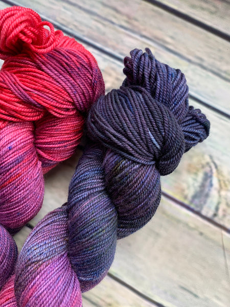 Twilight Flamingo - Merino Sport