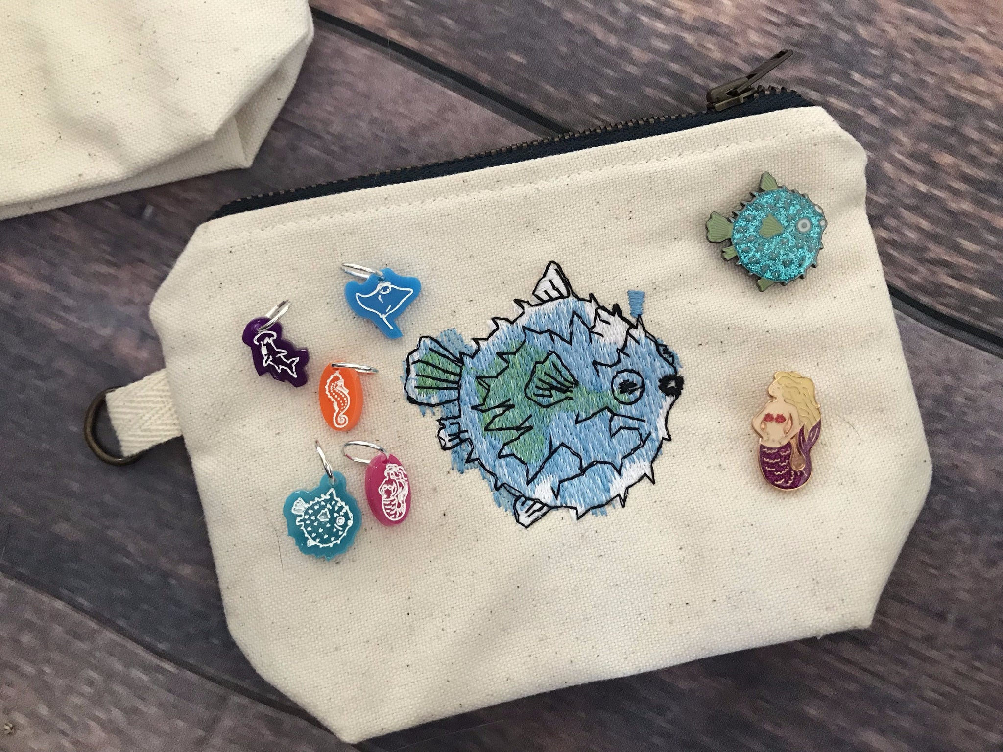 Mermaid - Notions Pouch