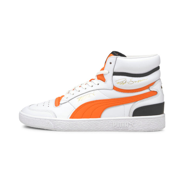Ralph Sampson Mid Puma White-Carrot-Puma