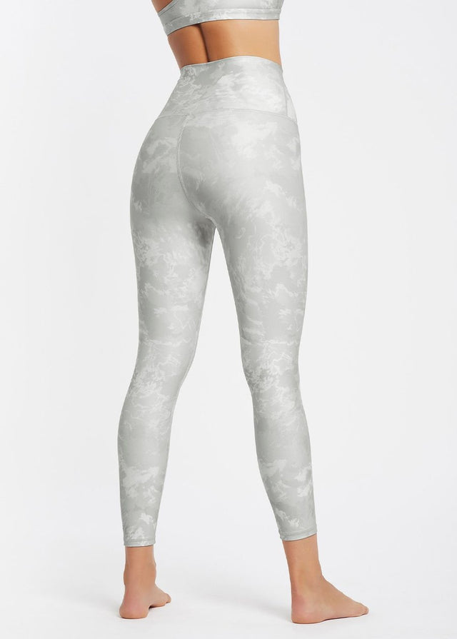 High Rise 7/8 Legging Marbled Grey