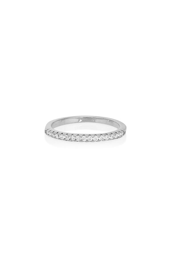 Diamond Band Silver