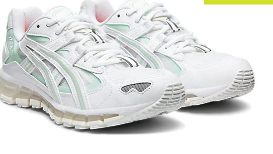 Gel Kayano 5 360 White/Mint