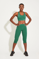 Luxe 3/4 Byron Pocket Legging Jade
