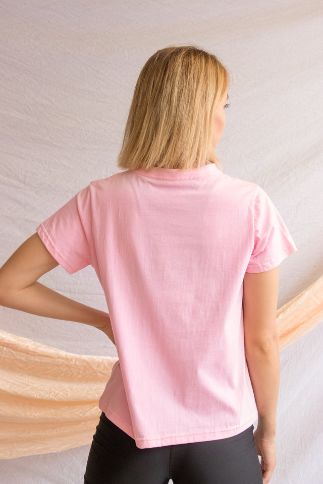 Be Your Own Favourite Tee Baby Pink