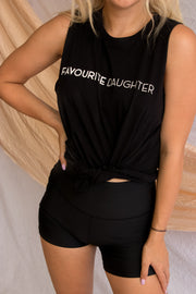 Favourite Daughter Tank Black