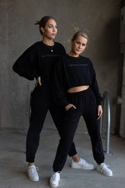 Lulu Longline Sweater Black
