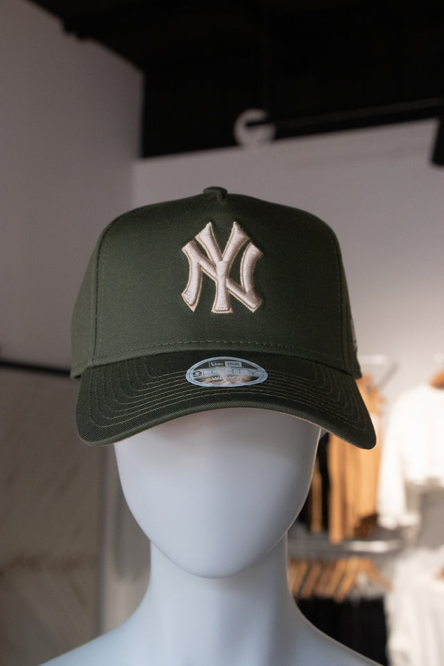 New Era NYC Khaki A-Frame 940