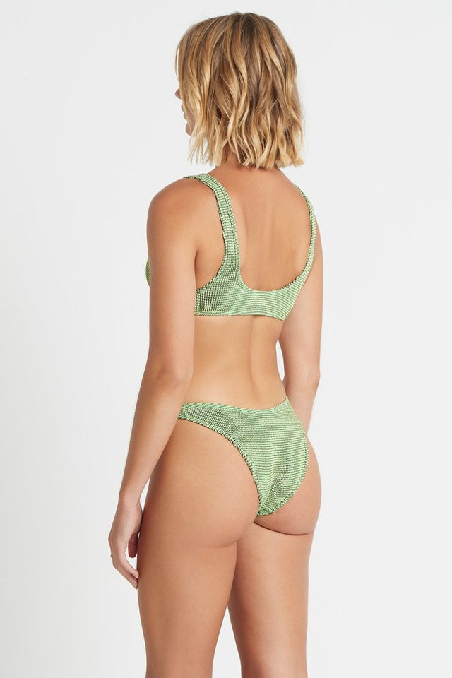 The Scene Brief Mint Lurex