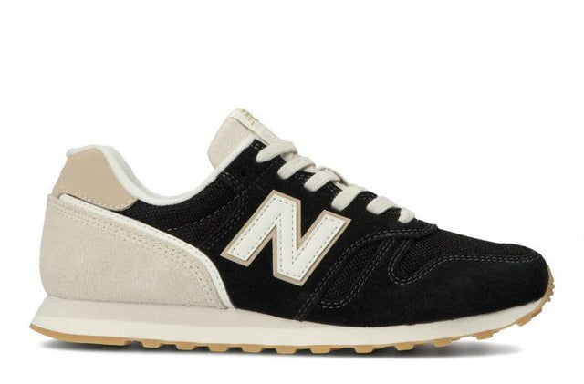 New Balance 373 Black with Moonbeam Sneaker