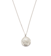 Virgo Zodiac Necklace Silver