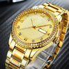 Waterproof Luxury Gold Calendar Luminous Watch