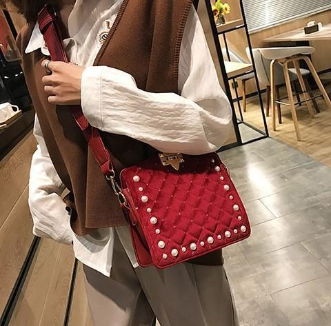 Loincloth Single Shoulder Small Square Bag With Crossbody Bag