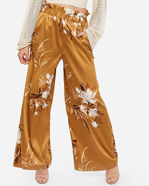 Casual Floral Printed Two-Piece Outerwear